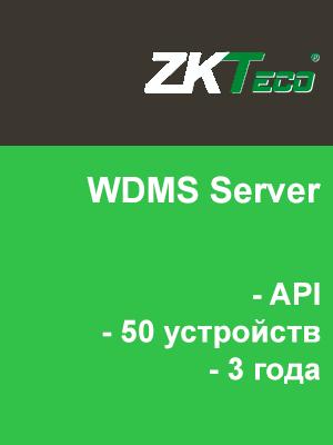 WDMS Server + API (50 устройств, 3 года)